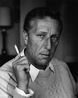 0164623 © Granger - Historical Picture ArchiveFREDERICK FORSYTH (1938-).   Writer London United Kingdom 1986. Photographed by Horst Tappe.