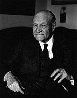 0165389 © Granger - Historical Picture ArchiveGIUSEPPE UNGARETTI (1888-1970).   Writer Rome Italy 1966. Photographed by Horst Tappe.