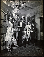 0163648 © Granger - Historical Picture ArchiveCOSTUME PARTY, 1905.  Revellers at a party hosted by Doctor W.B. James, c1905.