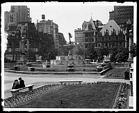 0163656 © Granger - Historical Picture ArchivePULITZER FOUNTAIN, 1926.   59th and Fifth Avenue, Manhattan, 20 June 1926.