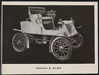 0166089 © Granger - Historical Picture ArchiveLOCOMOBILE STEAMER.   Catalog advertisement for a 1903 Locomobile Steamer automobile; 'Stanhope B, $1,500' in type below image. Print, 1903.