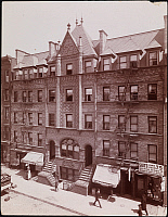 0166227 © Granger - Historical Picture ArchiveST. PHILIP'S PARISH HOUSE. Facade of St. Philip's Parish House, New York City. Photograph, c1897.