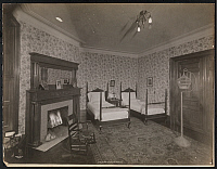 0166310 © Granger - Historical Picture ArchiveINTERNATIONAL MOTOR CLUB.   Bedroom at the International Motor Club of America, New York City. Photograph, c1920.