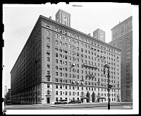 0166424 © Granger - Historical Picture ArchiveNEW YORK: PARK AVENUE.   227 Park Avenue apartments, east side, between 47th and 48th streets, New York City. Photograph, 1926.