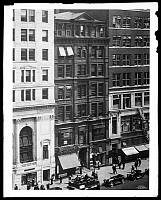 0166425 © Granger - Historical Picture ArchiveWALLACH BROTHERS BUILDING.   489 5th Avenue, before new front of limestone and brick, New York City. Photograph, 1926.