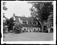 0166432 © Granger - Historical Picture ArchiveNEW YORK: RESIDENCE, 1927.   Winchell residence exterior, Riverdale, the Bronx, New York. Photograph, 1927.