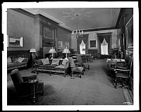 0166440 © Granger - Historical Picture ArchiveNEW YORK: CATHOLIC CLUB.   Lounge at the Catholic Club, 120 West 59th Street, New York City. Photograph, 1928.