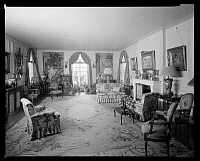 0166442 © Granger - Historical Picture ArchiveSCHIEFFELIN APARTMENT.   Living room in the apartment of S. Schieffelin at 133 East 64th Street, New York City. Photograph, 1928.