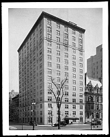 0166448 © Granger - Historical Picture ArchiveSTANHOPE APARTMENT HOTEL.   The Stanhope Apartment Hotel, 995 5th Avenue, New York City. Photograph, 1928.