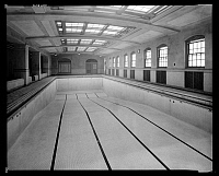 0166449 © Granger - Historical Picture ArchiveLINCOLN SCHOOL POOL, 1928.   Swimming pool at Lincoln School, West 123rd Street, New York City. Photograph, 1928.