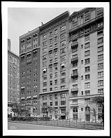0166456 © Granger - Historical Picture ArchiveNEW YORK: APARTMENTS, 1928.   Apartment houses at 929 Park Avenue near 80th Street, New York City. Photograph, 1928.