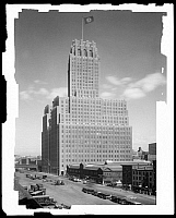 0166464 © Granger - Historical Picture ArchiveNEW YORK TELEPHONE, 1928.   The New York Telephone Building on West Street between Barclay and Vesey, New York City. Photograph, 1928.
