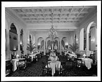 0166480 © Granger - Historical Picture ArchiveHOTEL MAYFLOWER, 1929.   Dining room at the Hotel Mayflower on Park Avenue at 65th Street, New York City. Photograph, 1929.
