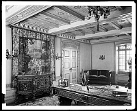 0166481 © Granger - Historical Picture ArchiveNEW YORK: APARTMENT, 1929.   Living room of a Park Avenue apartment, New York City. Photograph, 1929.