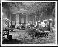 0166515 © Granger - Historical Picture ArchiveNEW YORK: UNIVERSITY CLUB.   Main lounge on the first floor of the University Club, 1 West 54th Street, New York City. Photograph, 1939.
