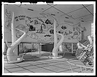 0166518 © Granger - Historical Picture ArchiveNEW YORK WORLD'S FAIR.   Interior of the Venezuela Building at the 1939 New York World's Fair. Flushing Meadows-Corona Park, Queens, New York. Photograph, 1939.