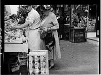 0172369 © Granger - Historical Picture ArchiveEAST VILLAGE MARKET, 1938.   Market at 1st Avenue and 10th Street, New York City. Photograph, 1938.