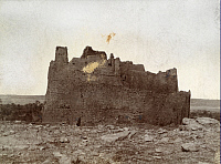 0246929 © Granger - Historical Picture ArchiveEL JOWF, ARABIA.   The ruined castle of Marid at the north end of El Jowf. Archibald Forder.