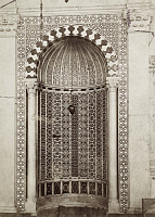 0247505 © Granger - Historical Picture ArchiveDAMASCUS, SYRIA.   An elaborate mosaic prayer niche in a mosque. Archibald Forder.