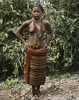 0250226 © Granger - Historical Picture ArchiveNORTHERN LUZON, PHILIPPINES.   A Kalinga Igorot woman in traditional clothing poses for a portrait. Dean C. Worcester.