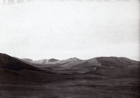 0250303 © Granger - Historical Picture ArchiveGREAT DUNES, SAHARA DESERT, AFRICA.   The Great Dunes photographed on an 1897 French expedition. Fernand M. Foureau.