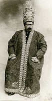 0250715 © Granger - Historical Picture ArchivePERSIA.   A portrait of the Shah of Persia, Mohammed Ali wearing the Kajar. Underwood And Underwood.