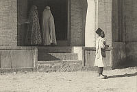 0251393 © Granger - Historical Picture ArchivePERSIA.   Women leave a public bath house; bath day falls on Friday each week. Lt. Alfred Heinicke.