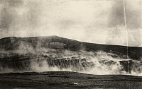 0251887 © Granger - Historical Picture ArchiveKATMAI NATIONAL PARK AND PRESERVE, ALASKA, USA.   A view of the steaming fissures near the Novarupta Volcano. Robert F. Griggs.