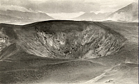 0251892 © Granger - Historical Picture ArchiveKATMAI NATIONAL PARK AND PRESERVE, ALASKA, USA.   A view of a crater in the Valley of Ten Thousand Smokes. R. E. Helt.
