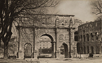 0252756 © Granger - Historical Picture ArchiveROME, ITALY.   A view of the Triumphal Arch of Constantine. Alexander Stewart.