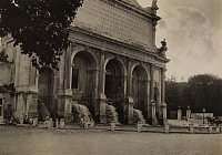 0252766 © Granger - Historical Picture ArchiveROME, ITALY.   A view of the Fountain on the Janiculum. Emil P. Albrecht.