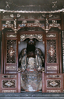 0254132 © Granger - Historical Picture ArchiveHANGCHOW, CHINA.   A relief in the Lingyin Temple of Chan Buddhism. Franklin Price Knott.