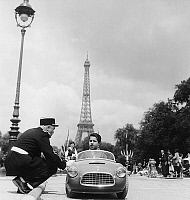 0143941 © Granger - Historical Picture ArchiveGRANDE FINALE OF THE COUPE OF FRANCE INTER PISTE.   final of car race in Paris june 11, 1959. Full credit: AGIP - Rue des Archives / Granger, NYC -- All rights reserved.