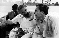 0149621 © Granger - Historical Picture ArchiveLE DOCTEUR FRIEDMAN AND THE PROFESSEUR CHRISTIAN BARNARD.   Doctors Friedman and Christian Barnard speaking when they go to hospital in Gabon on may 2, 1969. Full credit: AGIP - Rue des Archives / Granger, NYC -- All rights reserved.
