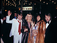 0149787 © Granger - Historical Picture ArchiveLE GROUPE ABBA.   Abba group in february 1978 for the movie Abba the movie in London. Full credit: AGIP - Rue des Archives / Granger, NYC -- All rights reserved.