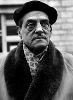 0151586 © Granger - Historical Picture ArchiveLUIS BUNUEL.   Director Luis Bunuel (1900-1983) on set of film Journal d'une femme de chambre 1963. Full credit: AGIP - Rue des Archives / Granger, NYC -- All rights reserved.