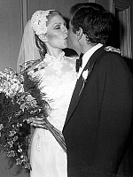 0157203 © Granger - Historical Picture ArchivePETER FALK.   Peter Falk and Shera Danese the day of their wedding on december 2, 1977. Full credit: AGIP - Rue des Archives / Granger, NYC -- All rights reserved.