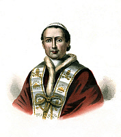 0157408 © Granger - Historical Picture ArchivePIE IX.   Pope Pius IX (1792-1878), Giovanni Maria Mastai Ferretti, pope from 1846 to 1878, lithograph. Full credit: AGIP - Rue des Archives / Granger, NYC -- All rights reserved.