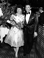 0159941 © Granger - Historical Picture ArchiveSACHA DISTEL AND SA FEMME.   Sacha Distel and his wife Francine Breaud for opening of casino Ruhl in Nice april 13, 1987. Full credit: AGIP - Rue des Archives / Granger, NYC -- All Rights Reserved.
