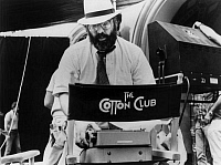 0168358 © Granger - Historical Picture ArchiveFRANCIS FORD COPPOLA.   Director Francis Ford Coppola on set of film THE COTTON CLUB 1984. Full credit: CSFF - Rue des Archives / Granger, NYC -- All rights reserved.