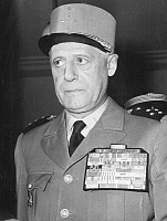 0067962 © Granger - Historical Picture ArchiveRAOUL SALAN (1899-1984).   French military officer. Photographed in 1958.