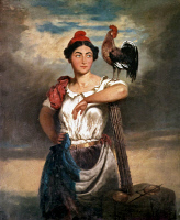 0076345 © Granger - Historical Picture ArchiveFRANCE: MARIANNE, 1848.   Marianne, allegory of the French Republic.
