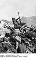0081854 © Granger - Historical Picture ArchiveFALANGIST ASSAULT, 1938.   Falangist troops assaulting a village during the Spanish Civil War, August 1938.