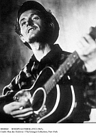 0084069 © Granger - Historical Picture ArchiveWOODY GUTHRIE (1912-1967).   American folk singer. Photograph, c1936.