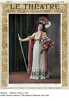 0084268 © Granger - Historical Picture ArchiveOPERA: TOSCA, 1903.   Polish soprano Claire Friche in the title role of Giacomo Puccini's 1900 opera 'Tosca' on the cover of the French magazine 'Le Theatre,' 1 December 1903.