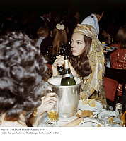 0086745 © Granger - Historical Picture ArchiveIRA VON FÜRSTENBERG (1940- ).   The princess, actress, and socialite. Von Fürstenberg attending a party in Paris, France, 1967.