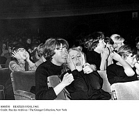 0088330 © Granger - Historical Picture ArchiveBEATLES FANS, 1963.   Hysterical women at a Beatles concert in Sheffield, England on 5 November 1963.