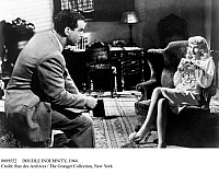 0089552 © Granger - Historical Picture ArchiveDOUBLE INDEMNITY, 1944.   Fred MacMurray and Barbara Stanwyck in a scene from 'Double Indemnity,' 1944.