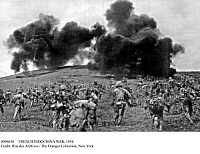 0096638 © Granger - Historical Picture ArchiveFRENCH INDOCHINA WAR, 1954.   Assault against Ham Lam Hill during the Dien Bien Phu battle, 13 March 1954.
