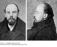 0107186 © Granger - Historical Picture ArchiveVLADIMIR LENIN (1870-1924).   Vladimir Ilich Ulyanov, known as Lenin. Russian Communist leader. Photographed at the time of his arrest in St. Petersburg, Russia, December 1895.